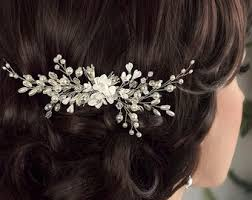 bridal hair accessories wedding hair accessories etsy