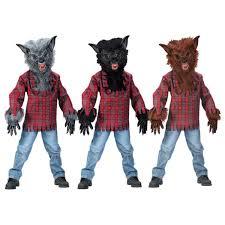 kids deluxe werewolf halloween fancy dress costume a5813 dress