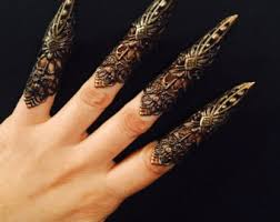metal claws sharp metal claws etsy