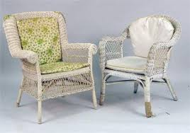 an assembled group of ivory painted wicker s bedroom furniture