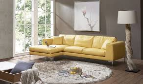 left facing chaise sectional sofa marvelous yellow sectional sofa ju0026m soleil premium leather