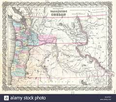 Picture Of Map Of Washington by Map Washington Stock Photos U0026 Map Washington Stock Images Alamy