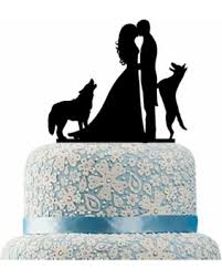 cake topper with dog check out these bargains on buythrow wedding cake topper with dog