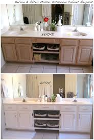 vanity before and after how to use gel stain maintain wood grain