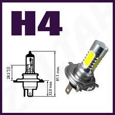 nissan micra headlight bulb h4 white cree conversion 472 led 80w main beam headlight bulbs