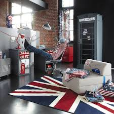 decoration chambre theme londres chambre ado fille garçon york londres rock bedrooms room