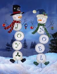 snowman yard stakes wikii