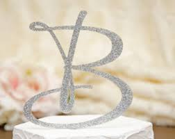 letter wedding cake toppers cake toppers curated by something turquoise on etsy