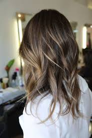 long brown hairstyles with parshall highlight image result for partial highlights for brunettes hair