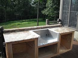 outdoor kitchen sinks ideas concrete outdoor sink sink ideas