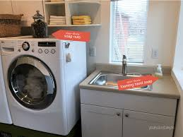 Sink For Laundry Room by Creating An Efficient Non Toxic Laundry Room U2013 Healthy Home Tour