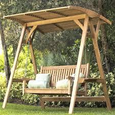 Backyard Swing Ideas Design Best 25 Outdoor Swing With Canopy Ideas On Pinterest Of