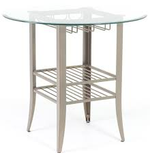 contemporary counter height table amisco tables amisco andy contemporary counter height table with