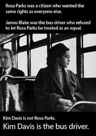 Rosa Parks Meme - mrw kim davis supporters compare her to rosa parks imgur