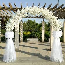 japanese wedding arches upscale wedding centerpieces metal wedding arch door hanging
