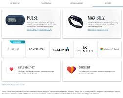 Challenge Site How Do I Connect My Fitness Tracker To The Global Challenge Site