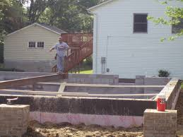 the mcnerney estate backfilling and basement beams