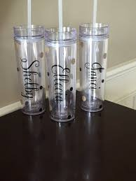 bridesmaid cups the 25 best personalized tumblers ideas on tumblers