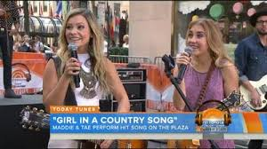 maddie u0026 tae on today show video live concert performance