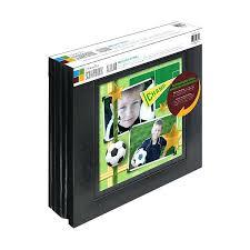 Large Scrapbook Memory Black Bonded Leather Scrapbook Album Large Albums 85 X11