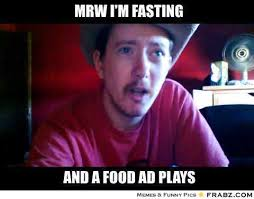 Fasting Meme - you can smell it through the tv heartbroken cowboy know your meme