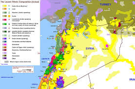 Map Of Syria by Demographics Heritage For Peace