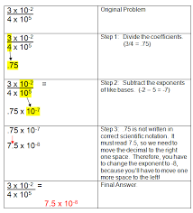 here u0027s a quick exit slip on scientific notation exponents
