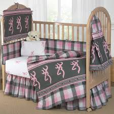 Camouflage Bedding For Cribs Buckmark Bedding Buckmark Plaid Pink Gray Crib Bedding Camo Trading