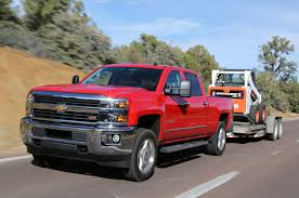 Red Lifted Chevy Silverado Truck - 2015 chevrolet silverado hd and gmc sierra hd first drive motor