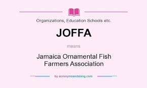 what does joffa definition of joffa joffa stands for