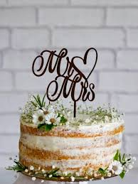 mr and mrs wedding cake toppers mr mrs wedding cake topper wooden cake topper custom mr and mrs
