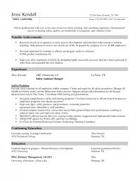 Sample Business Manager Resume by Download Safety Manager Resume Haadyaooverbayresort Com
