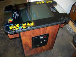 Cocktail Arcade Cabinet Kit Pacman Cocktail Table Original Bally Midway