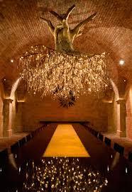 chandelier mesmerizing tree chandelier at hall vineyard in california