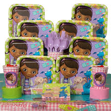 doc mcstuffins wrapping paper doc mcstuffins party kit including plates cups