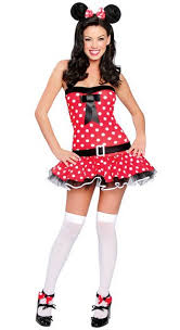 Minnie Mouse Halloween Costumes Adults Cheap Envío Gratuito Halloween Ropa Recién Estilo