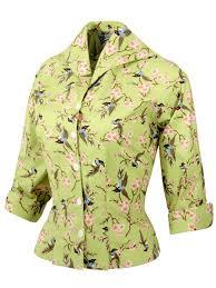 bird blouse raglan blouse bird lime from vivien of holloway