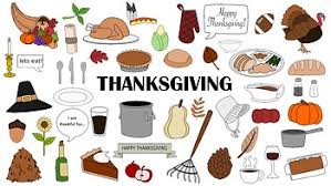 thanksgiving doodle clipart by jrillustrations tpt