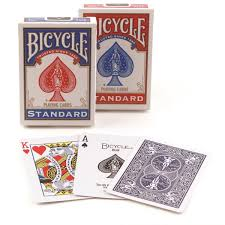bicycle rider back cards 4
