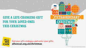 extraordinary gifts advent and christmas all we can