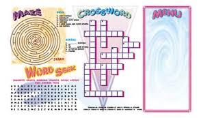 kids placemats menu paper kids menus the menu store menu papers 1 800 815