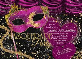 masquerade party invitations u2013 gangcraft net
