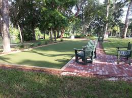 tour greens north florida synthetic turf bocce court