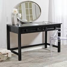 Modern Bedroom Vanity Furniture Black Makeup Vanity With Drawers Home Design Ideas