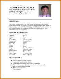 Resume Creator For Freshers by Make Resume Format Format To Make Resume Resume Format Fresher