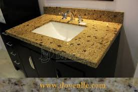 brazil golden jasmine granite bathroom vanity top wt sink from
