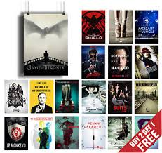 best tv series of 2015 poster options a3 a4 tv shows wall art