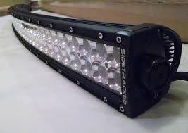 multi color led light bar tracker series radius led light bars sidetracked offroad