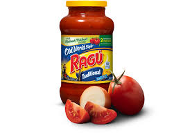 Traditional by Old World Style Traditional Spaghetti Sauce Ragú