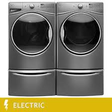 Front Loader Pedestal Laundry Suites With Electric Dryer Costco